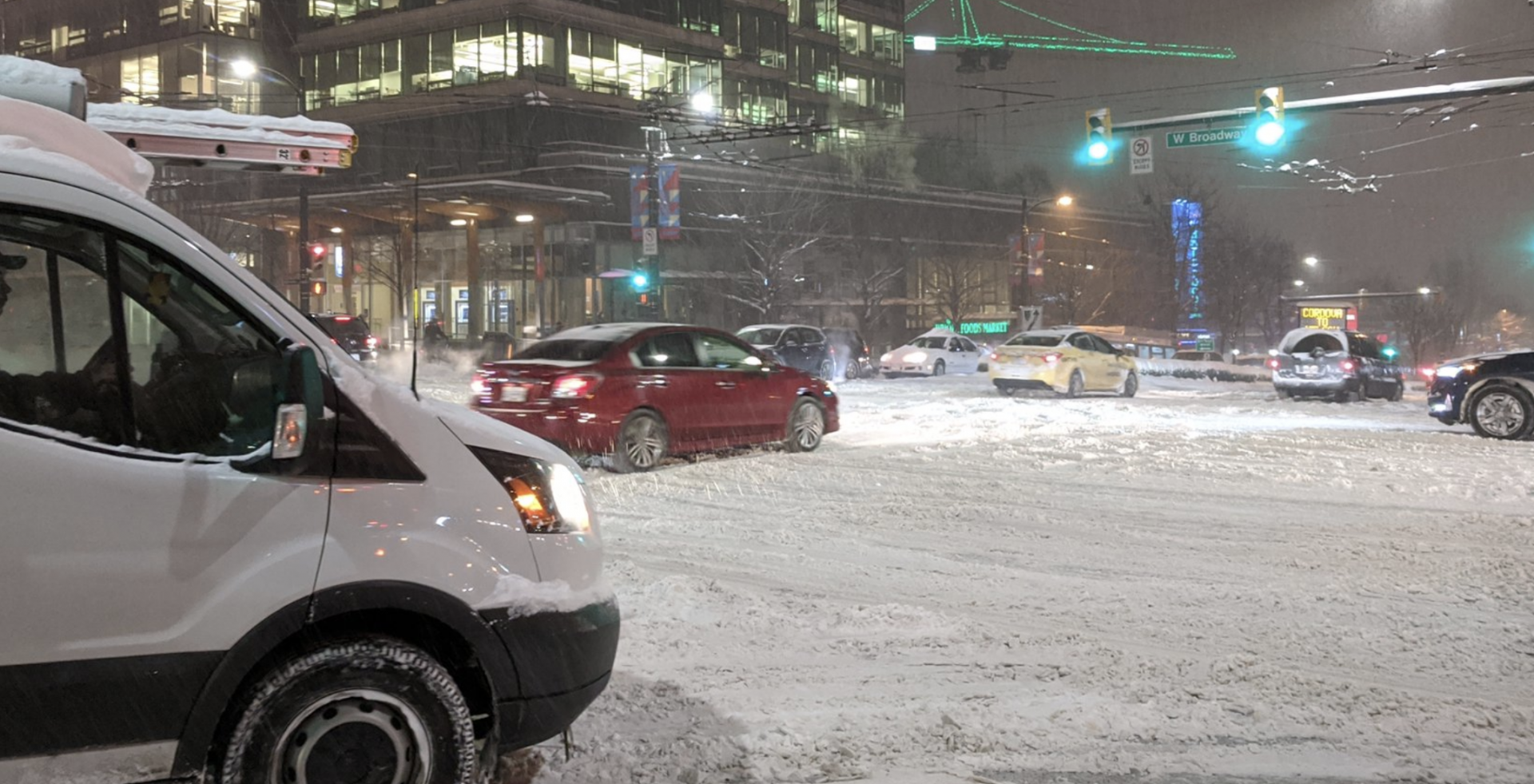 Government warns British Columbians to stay off roads today