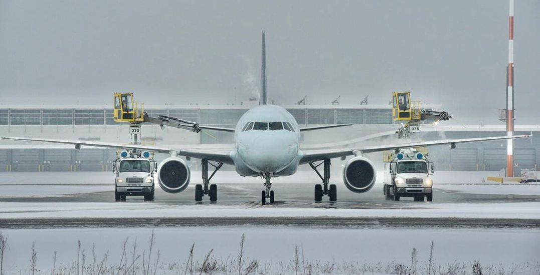 Winter weather advisory in effect for Vancouver International Airport