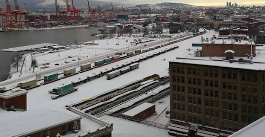 A new Snowfall Warning is in effect for Metro Vancouver