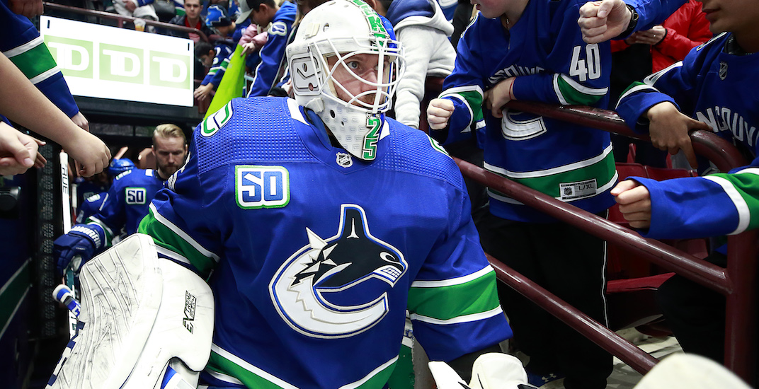 How much the Canucks should pay Markstrom on his next contract