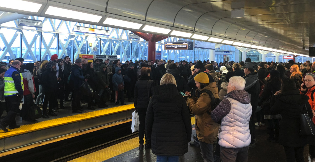 UPDATED: Expo Line SkyTrain experiencing delays due to track issues