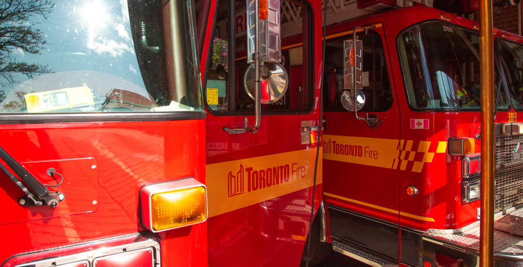 One person found without vital signs following Parkdale apartment fire
