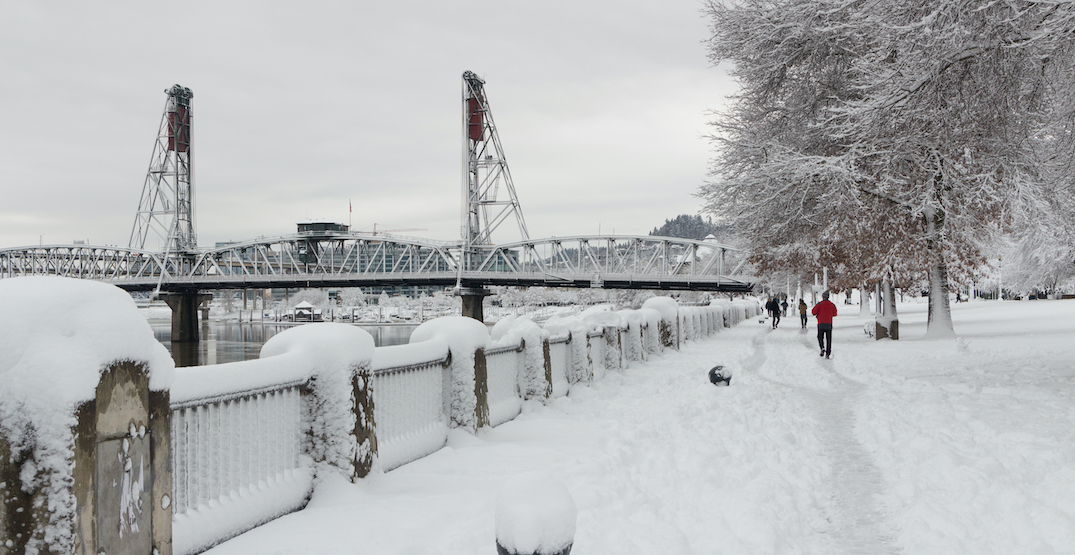 A Special Winter Weather advisory is in effect for Portland (PHOTOS)