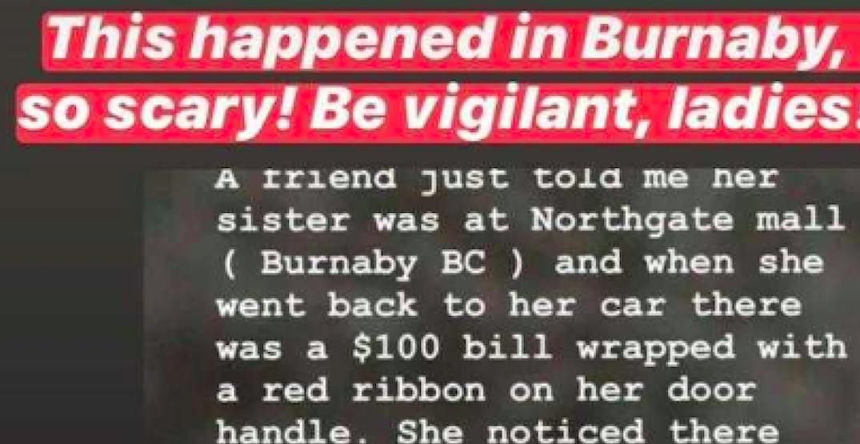 Burnaby Sex Trafficking