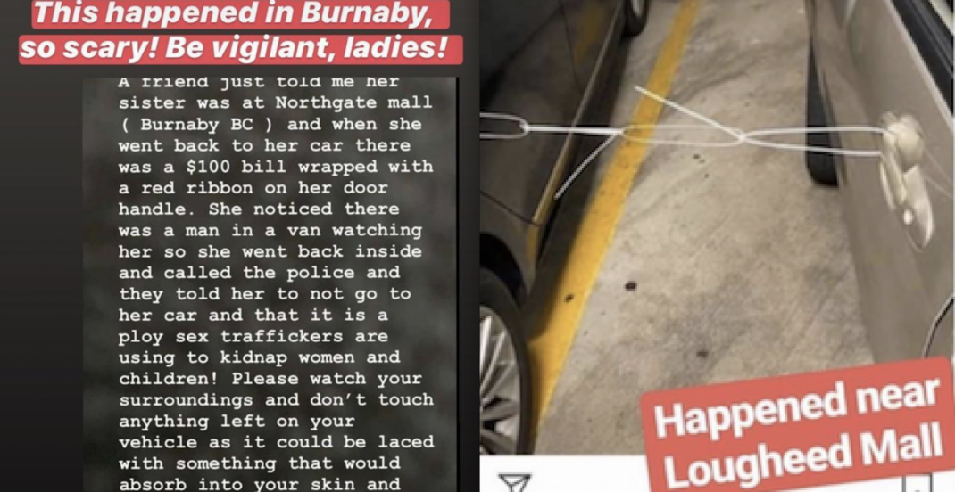 Viral sex trafficking social media posts appears to be hoax: Burnaby RCMP