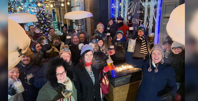 Edmonton's Polar Patio Club enjoys patio season all year long