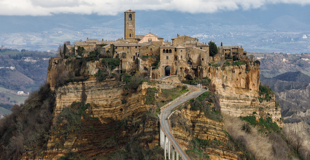 This crumbling town in Italy charges visitors an entry fee