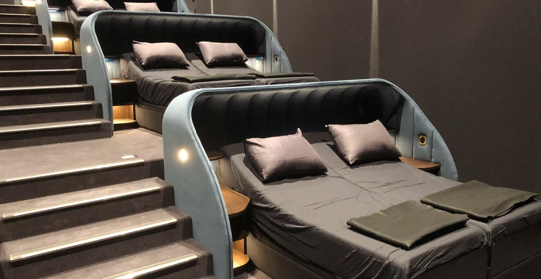 """Watch movies from a """"VIP Bed"""" at this Switzerland theatre"""