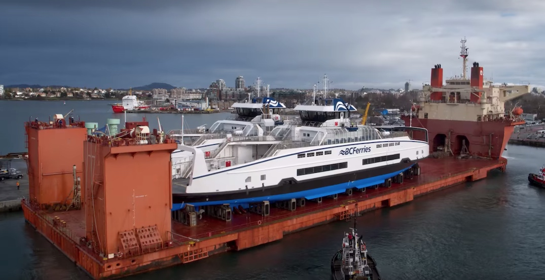 bc ferries island class ships january 2020 victoria hybrid electric