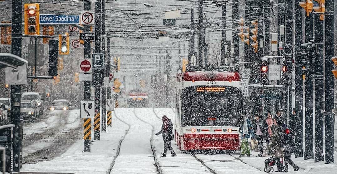 Toronto at 126% of its usual snowfall this season: The Weather Network