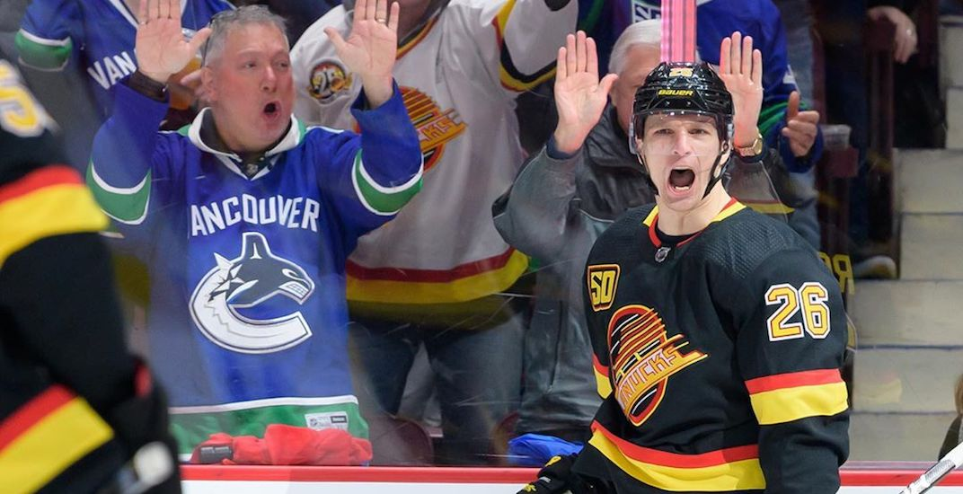 7 reasons why the Canucks are in first place at the All-Star break