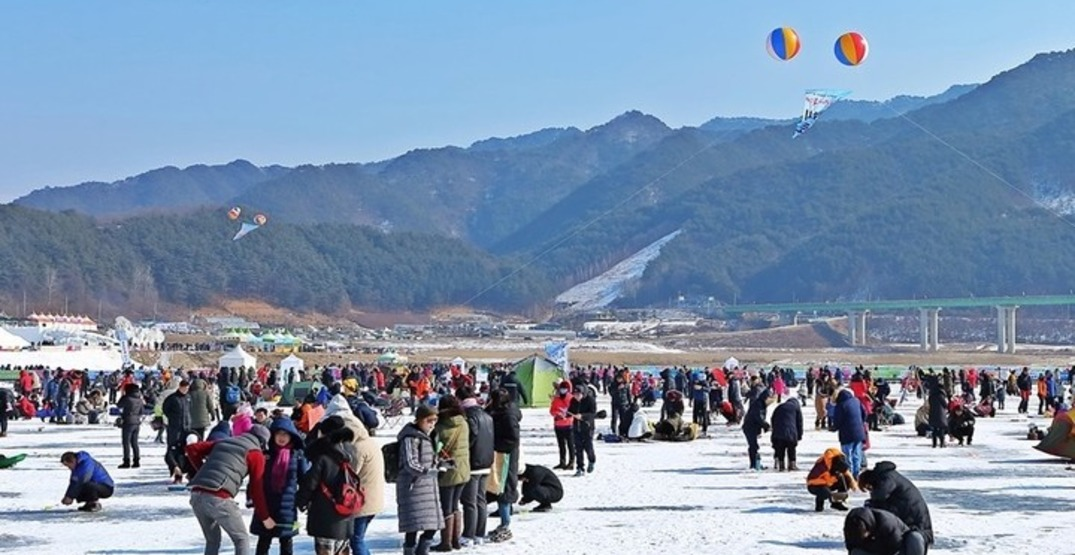 A massive ice fishing festival has officially kicked off in South Korea