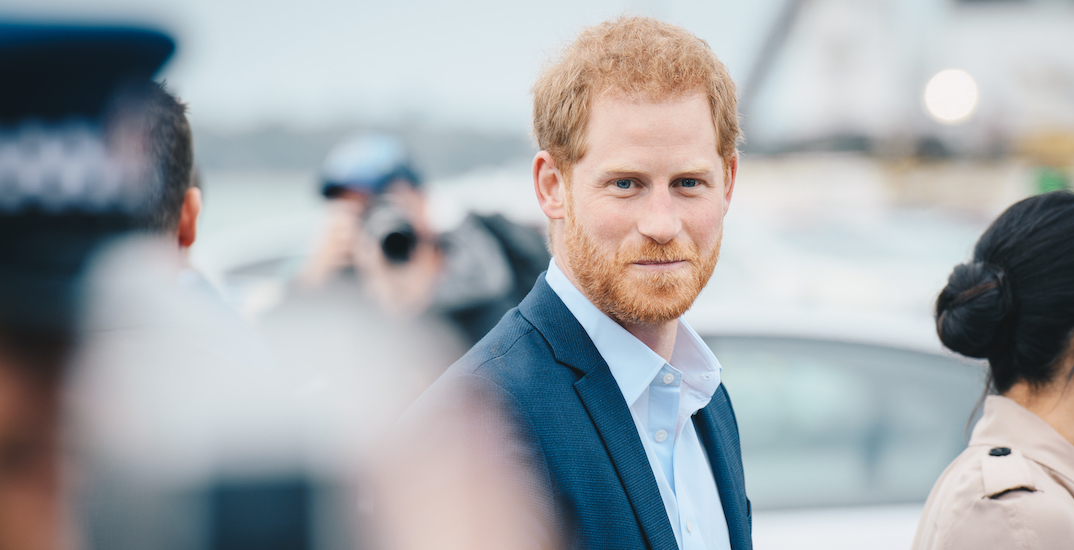 It looks like Prince Harry returned to Canada on a WestJet flight