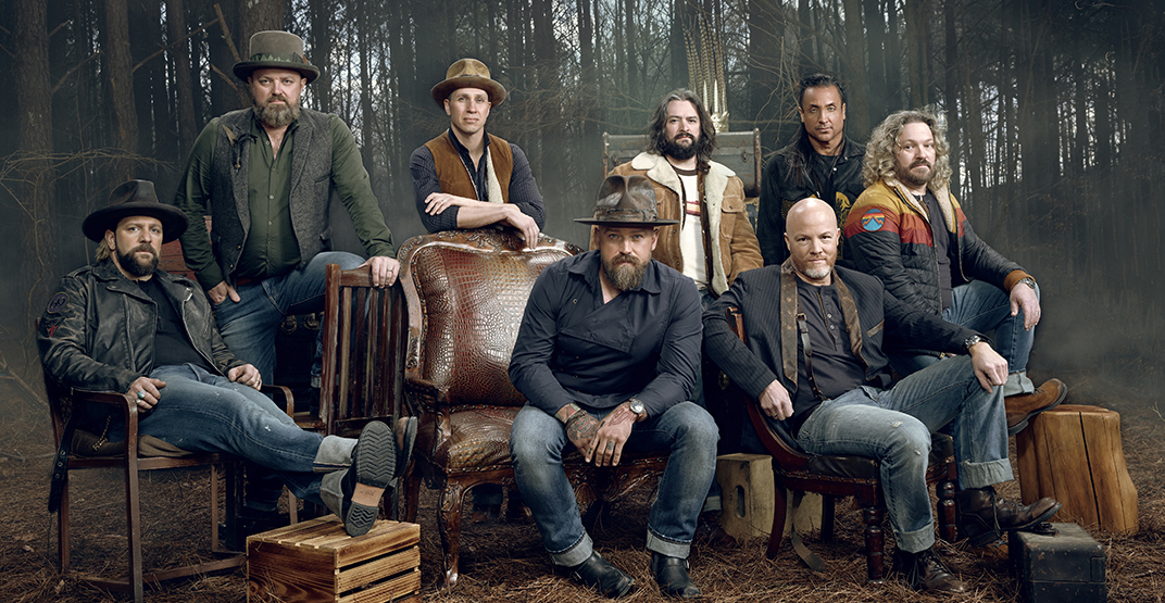 Zac Brown Band to perform at Rogers Arena October 2020