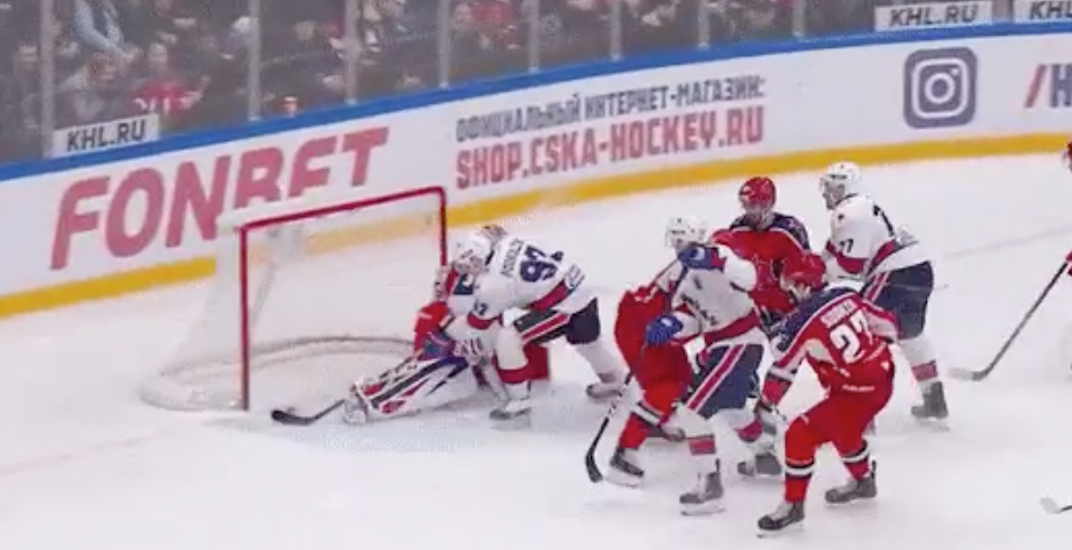 Canucks prospect Podkolzin scores beautiful first-ever KHL goal (VIDEO)