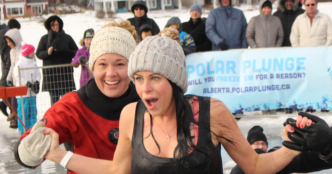 Take a polar plunge in Edmonton this weekend for a good cause