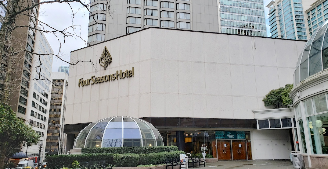 Four Seasons Hotel Vancouver Is Now Closed After Nearly 44 Years