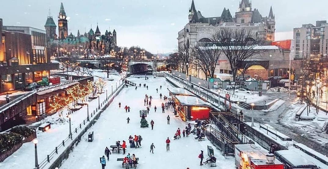 The world's largest naturally frozen skating rink is now open for the winter (PHOTOS)