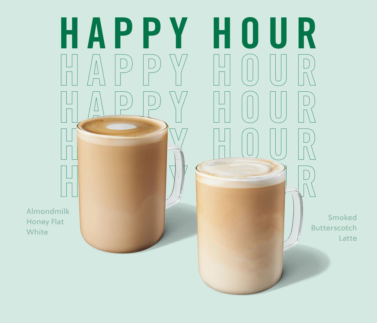 Starbucks Happy Hour Jan 23