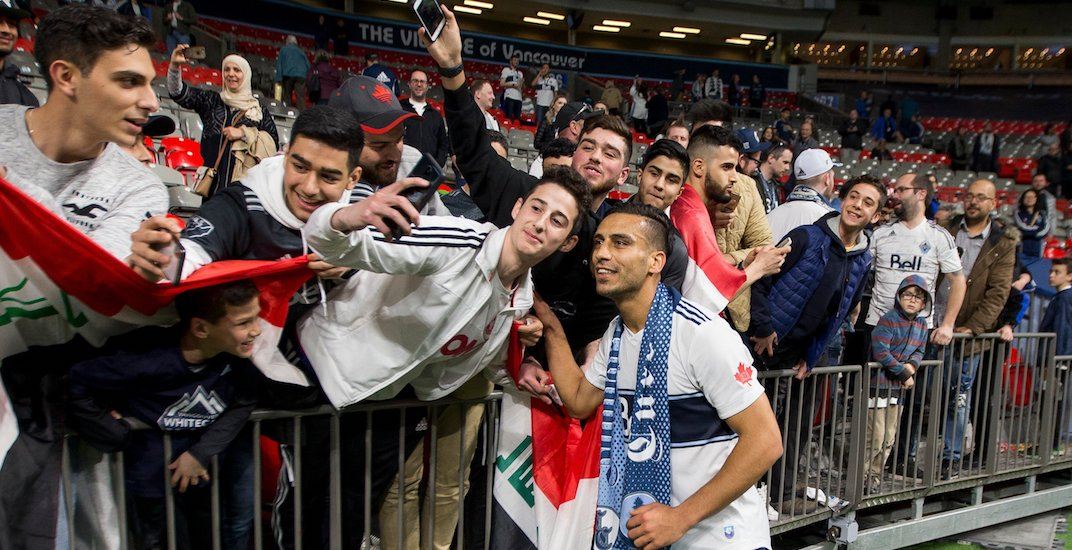 Whitecaps star Ali Adnan spent offseason helping the people of Iraq