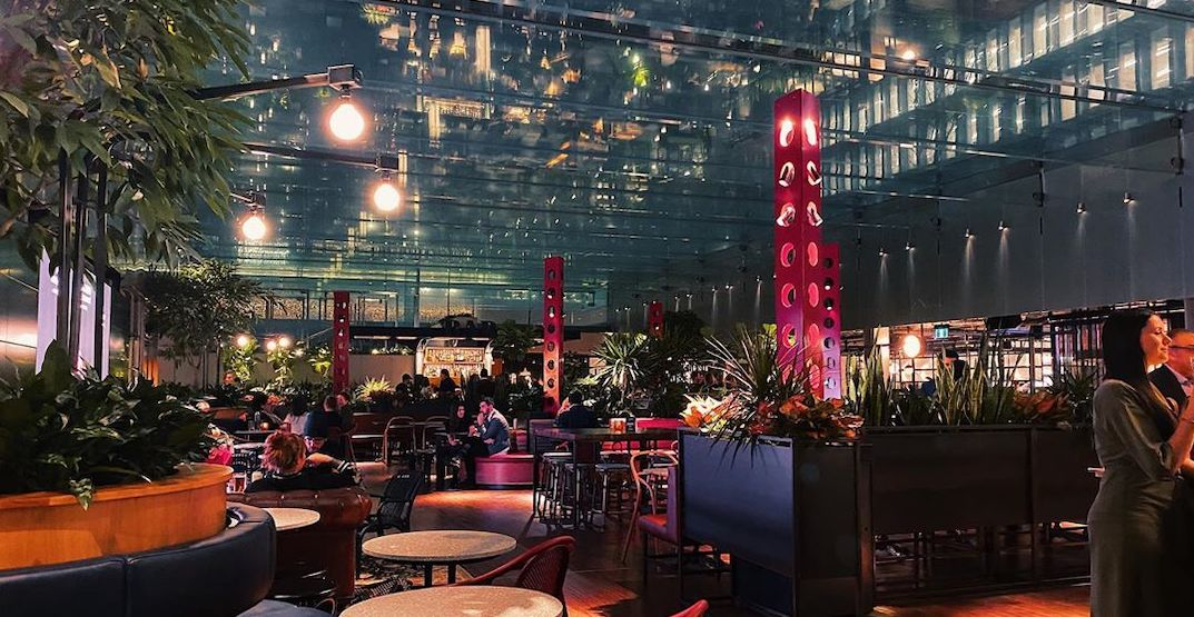 Here's what downtown Montreal's new gourmet food and beer garden looks like (PHOTOS)