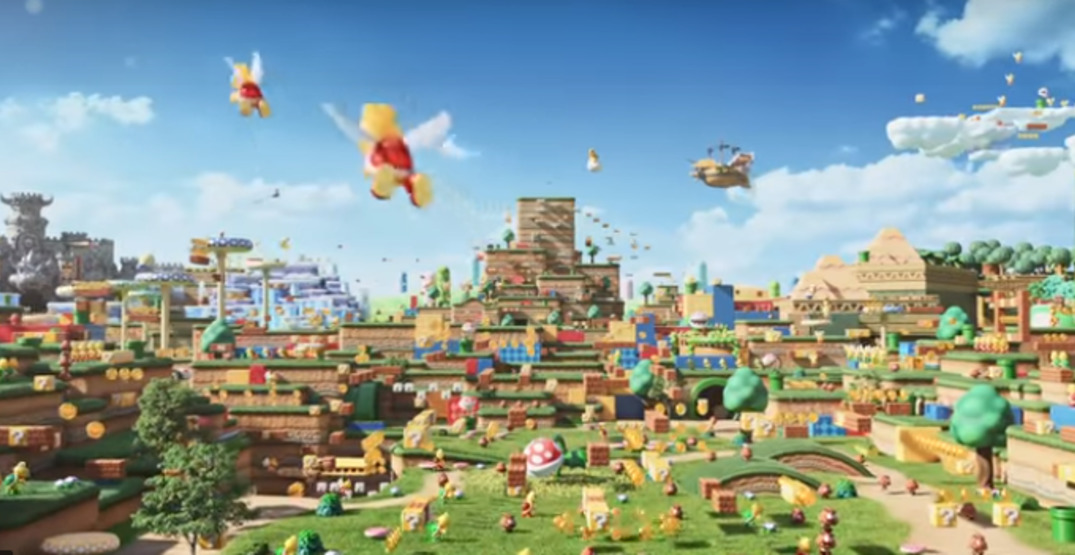 Super Nintendo World is opening at Universal Studios Japan Summer 2020
