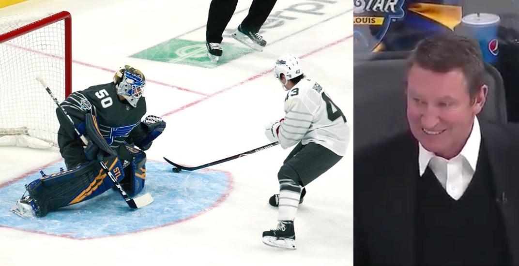 Wayne Gretzky impressed by Canucks All-Star rookie Quinn Hughes (VIDEO)
