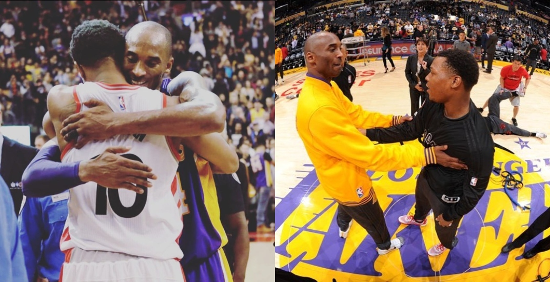 Raptors players past and present share heartfelt Kobe Bryant tributes