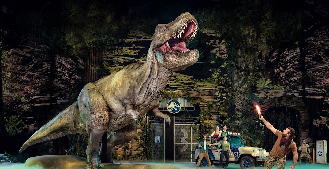 Dinosaurs to roam Vancouver for Jurassic World Live Tour Spring 2020