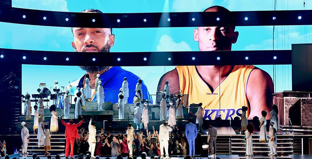 The Grammys were filled with emotional tributes for Kobe Bryant