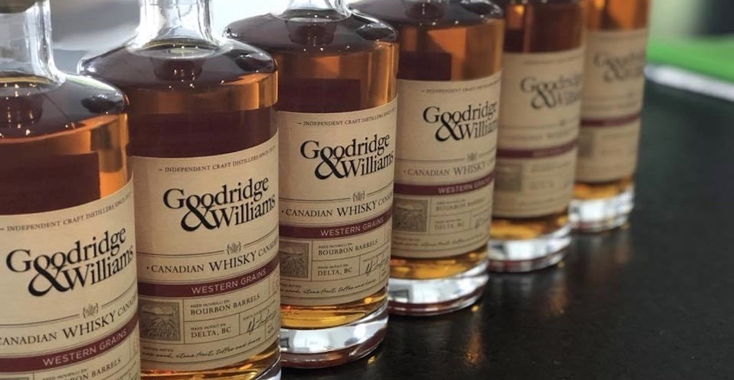 Labatt acquires BC-based Goodridge & Williams Distillery