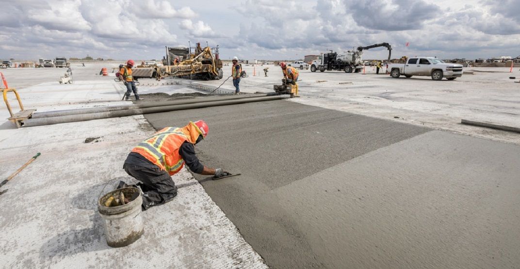 Calgary International Airport now home to environmentally friendly concrete