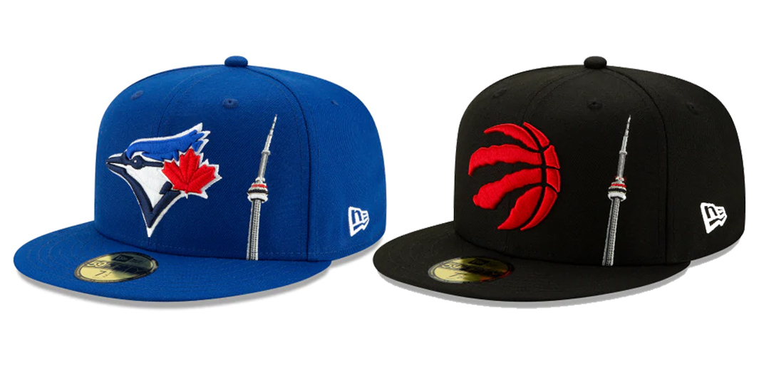 Check out these new Toronto-inspired Blue Jays and Raptors hats