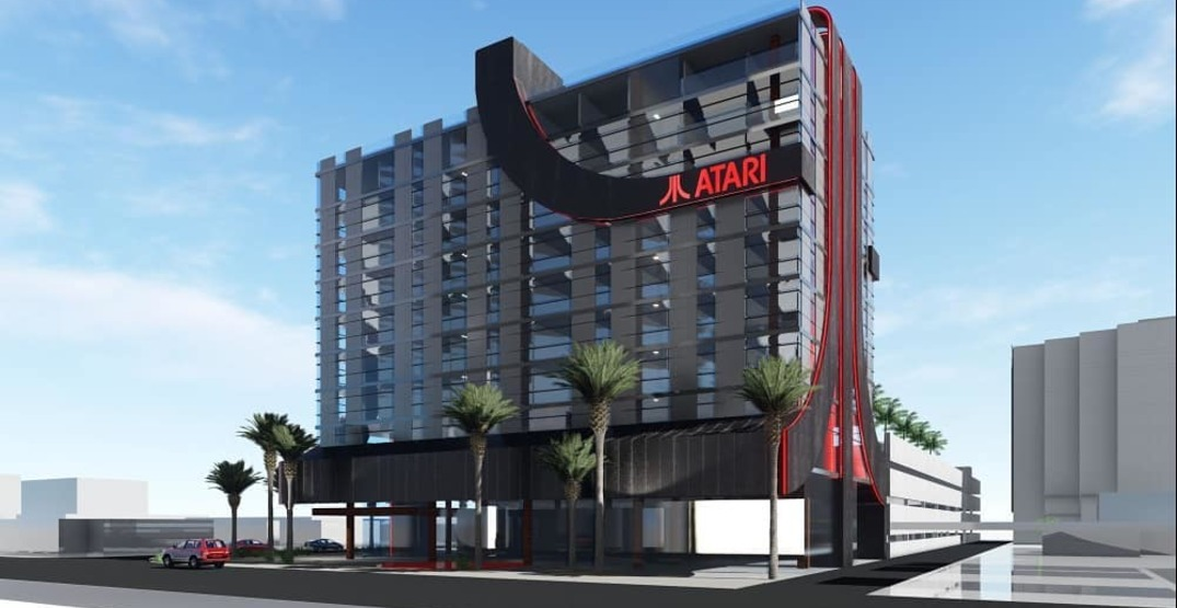 Atari is planning to build a game-themed hotel in Seattle
