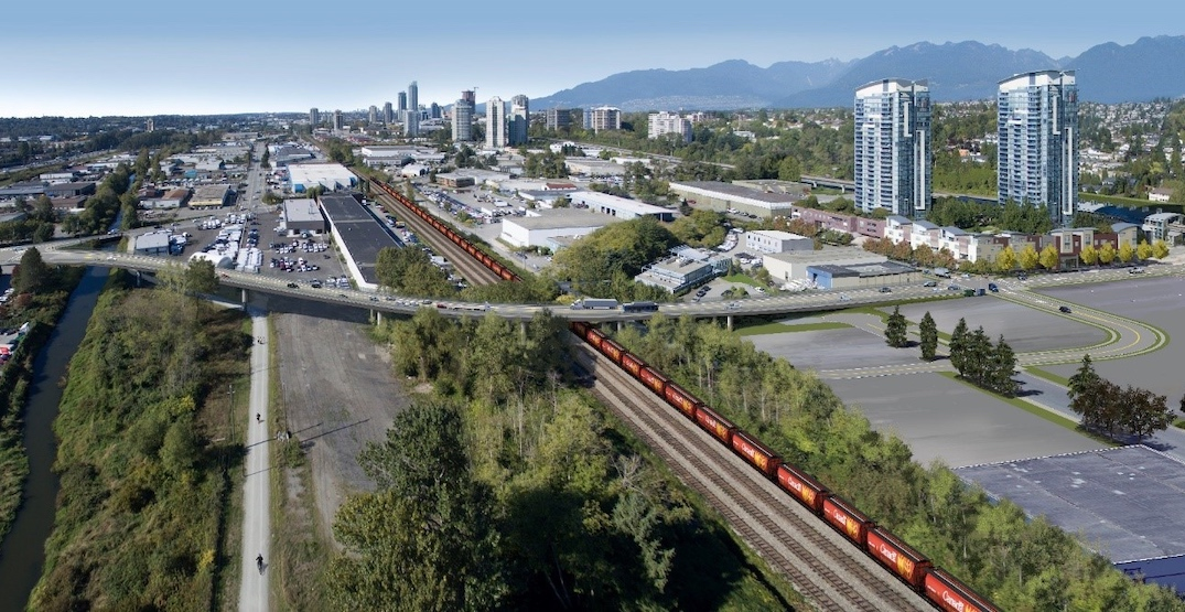 New $145-million Holdom Avenue overpass proposed for Burnaby