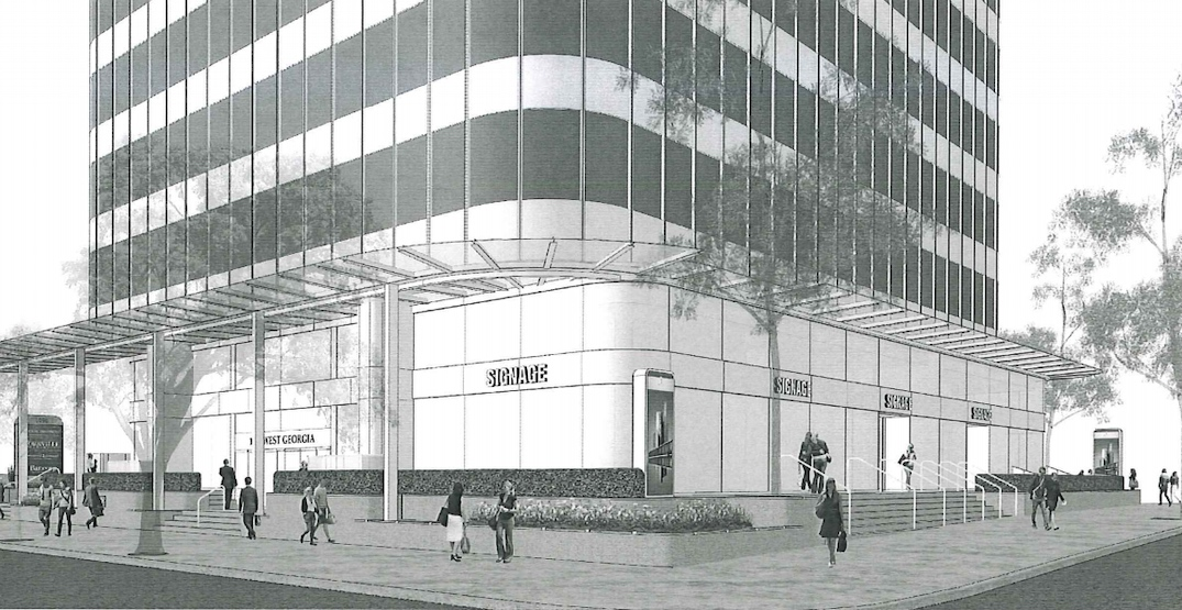 New expanded and renovated retail space for Alberni Street in downtown