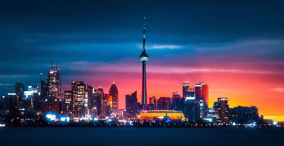 "CN Tower offering nightly light shows to ""brighten the mood"""