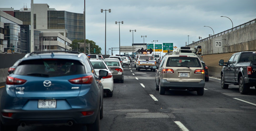 Montreal ranked third most congested city in Canada: study