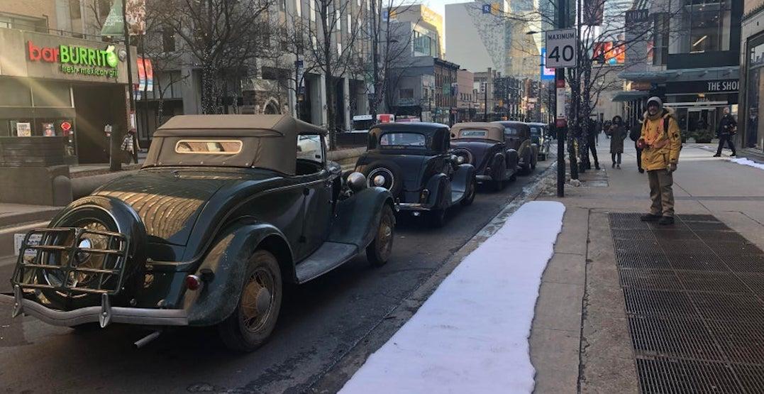Downtown Toronto turns into 1940s film set for Bradley Cooper movie (PHOTOS)