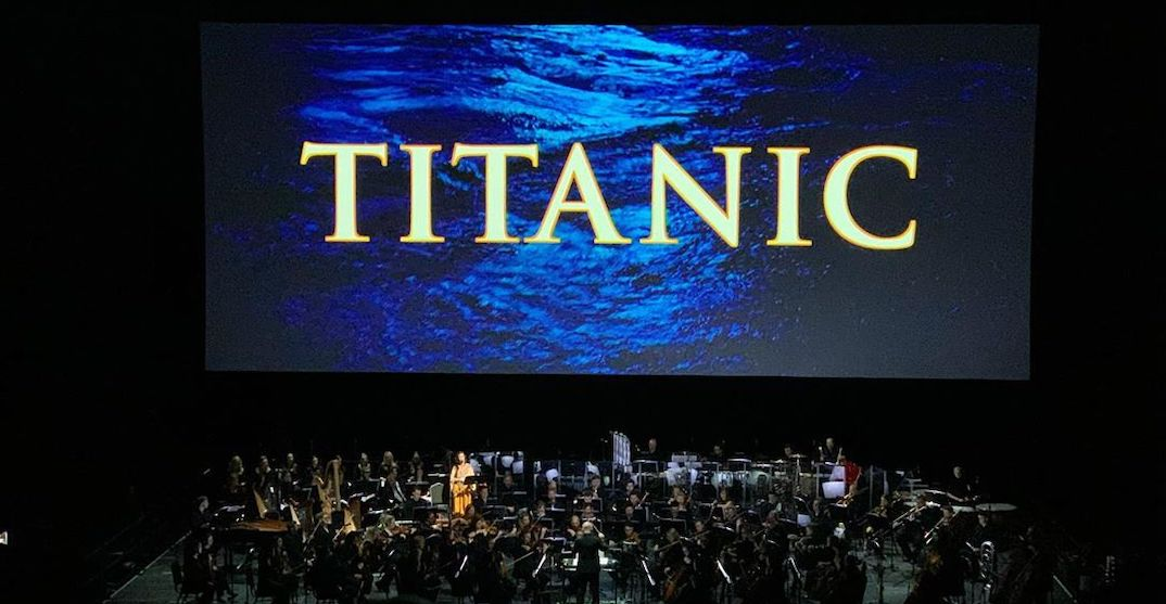 A live Titanic concert is coming to Place des Arts on February 8 and 9