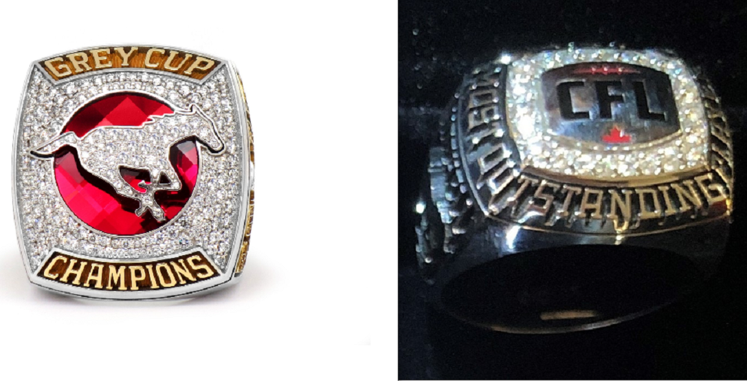 2 CFL championship rings stolen from Stampeder's vehicle