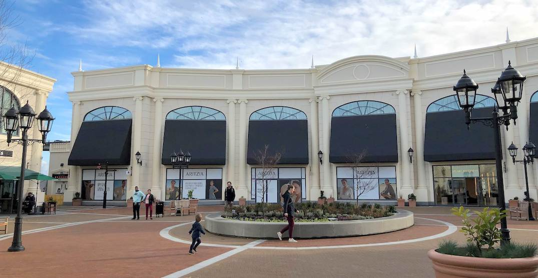 Aritzia to open a major store at McArthurGlen Vancouver Airport Outlet Mall