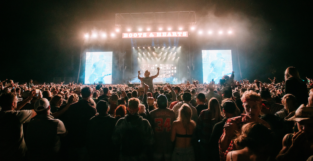 Boots and Hearts releases lineup for 2020 music festival