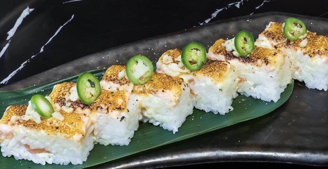 New spot Shin Ka Gyuu offers unlimited Aburi Oshi sushi