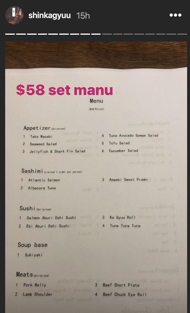 shin ka gyuu unlimited sushi