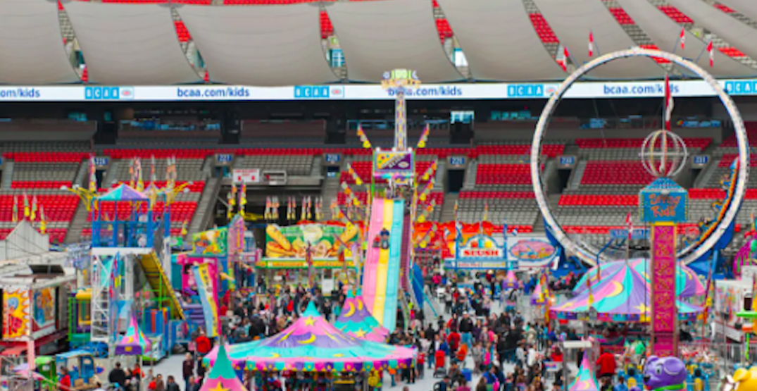 PlayDome is officially returning to BC Place March 2020