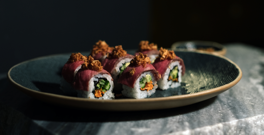 New downtown eatery features a sushi bar and massive beer menu