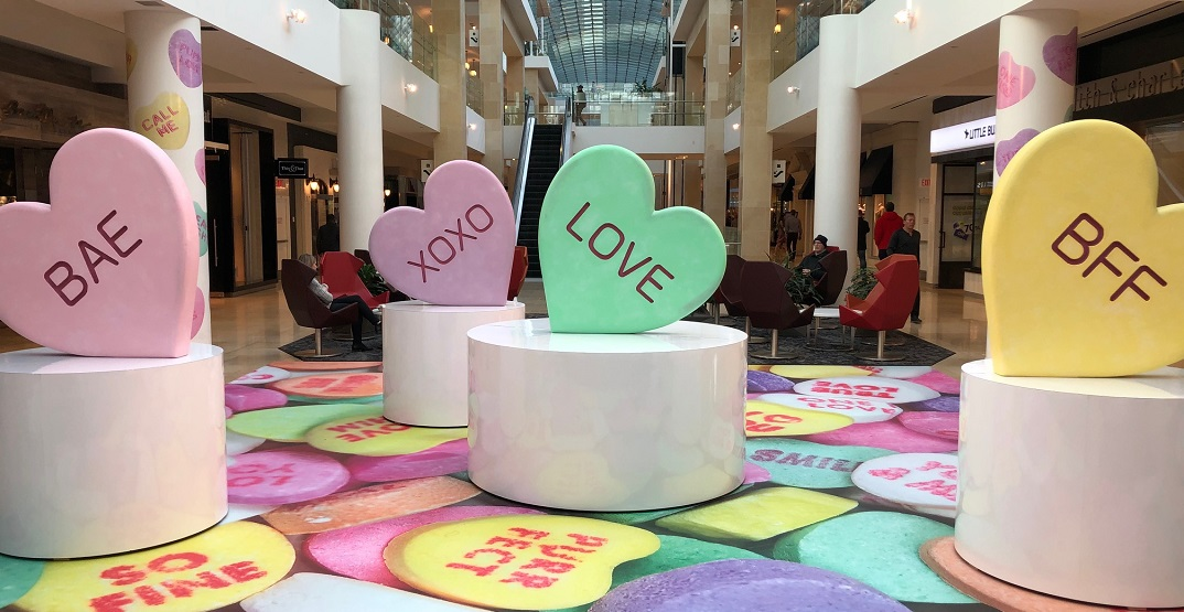The CORE just set up a photogenic Valentine's Day display (PHOTOS)