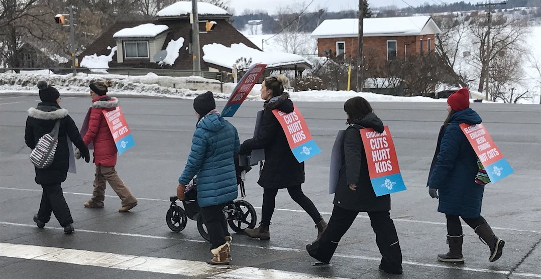 Ontario public school teachers continue rolling strike action this week
