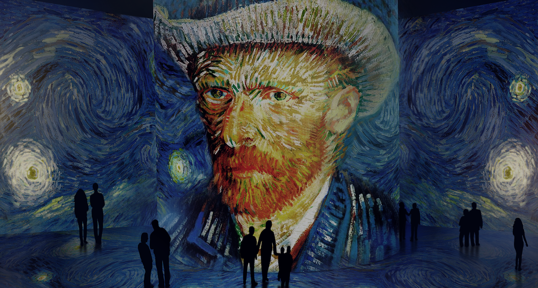 The world premiere of a massive interactive Vincent van Gogh exhibit is coming to Toronto